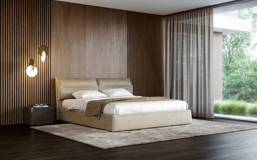 Limura bed фото в интерьере
