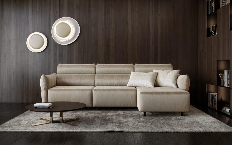 BON BON sofa фото в интерьере