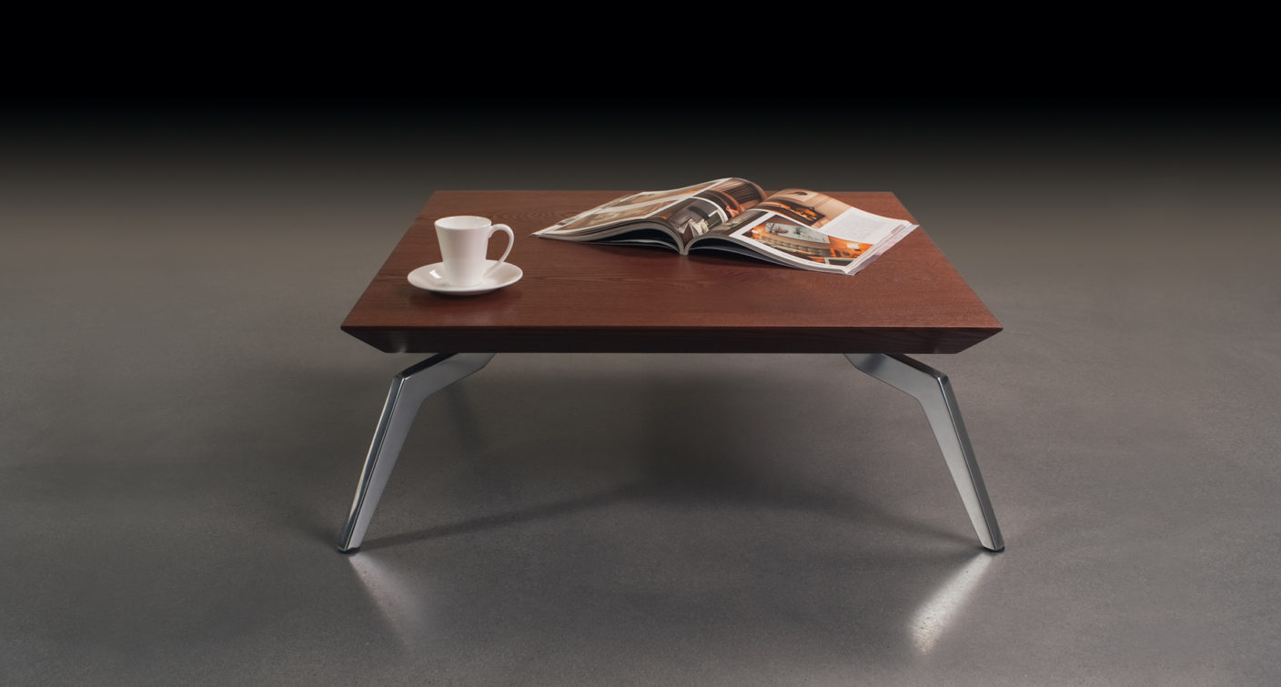 Carre table - Blanche